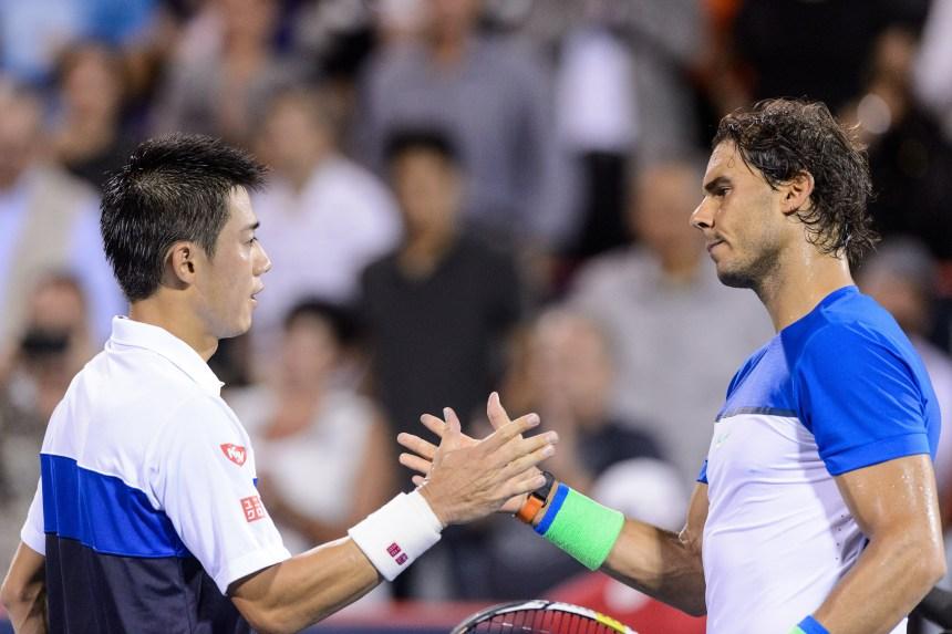 Nishikori et Murray dans le carré d'as de la Coupe Rogers