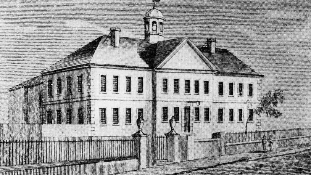 La prison de la place Vauquelin vers 1808