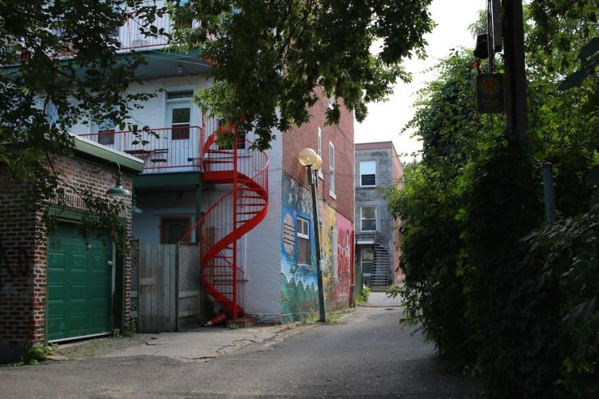 Montréal: mesures aux sorties de ruelles