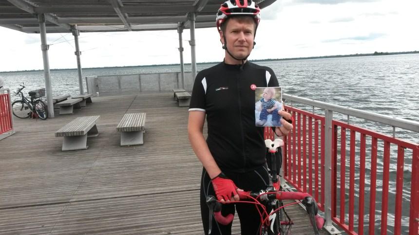 Un triathlon à la mémoire du petit Adam pour lutter contre la dépression