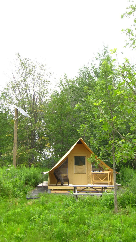 Camper aux Îles-de-Boucherville
