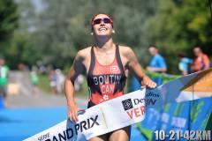 Élisabeth Boutin: championne de triathlon