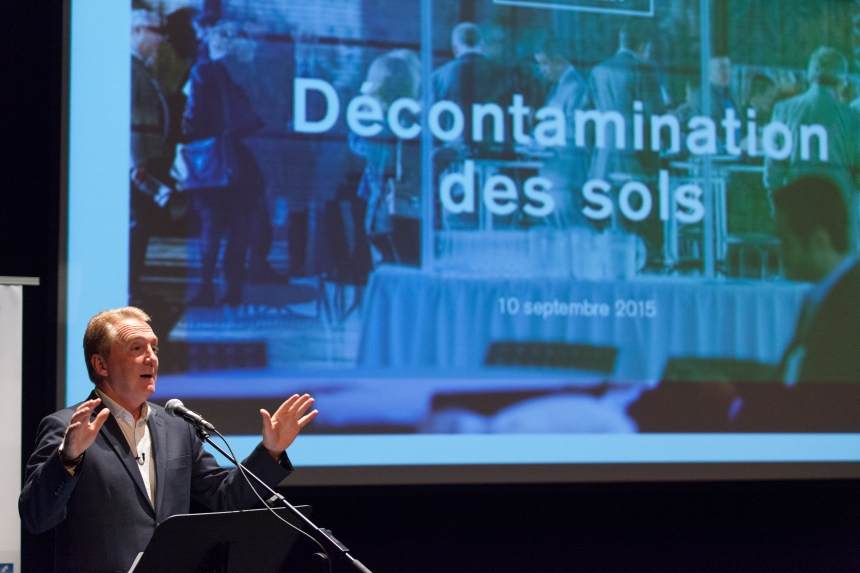 Atelier à Pointe-aux-Trembles: innover pour décontaminer les sols