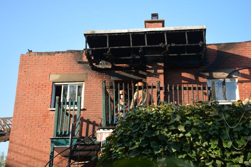 Incendie rue des Ormeaux: deux familles évacuées