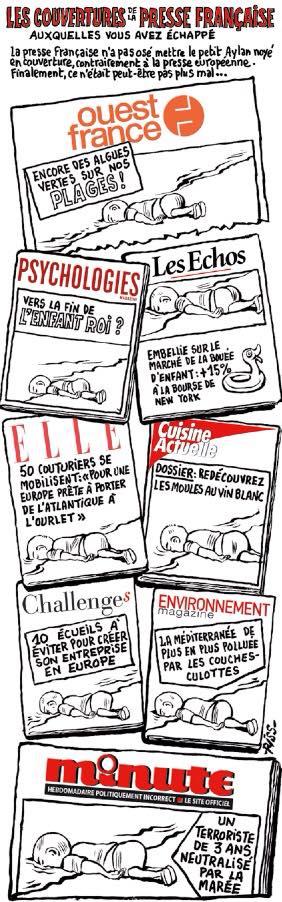 ACTU - Charlie Hebo - Aylan