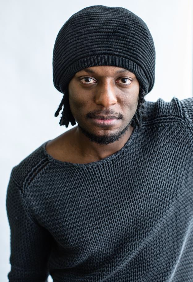 Gardy Fury, porte-parole du Festival international du film black de Montréal