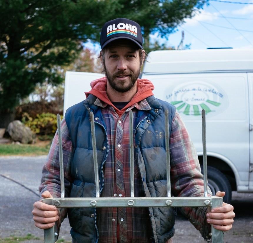 Jean-Martin Fortier: le jardinier-maraîcher persiste et signe