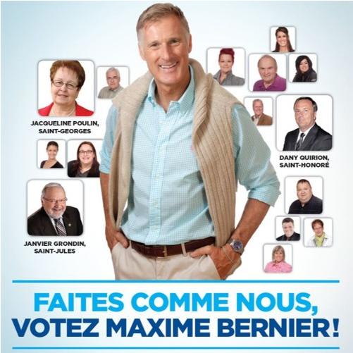 Chanson publicitaire de Maxime Bernier: Twitter réagit