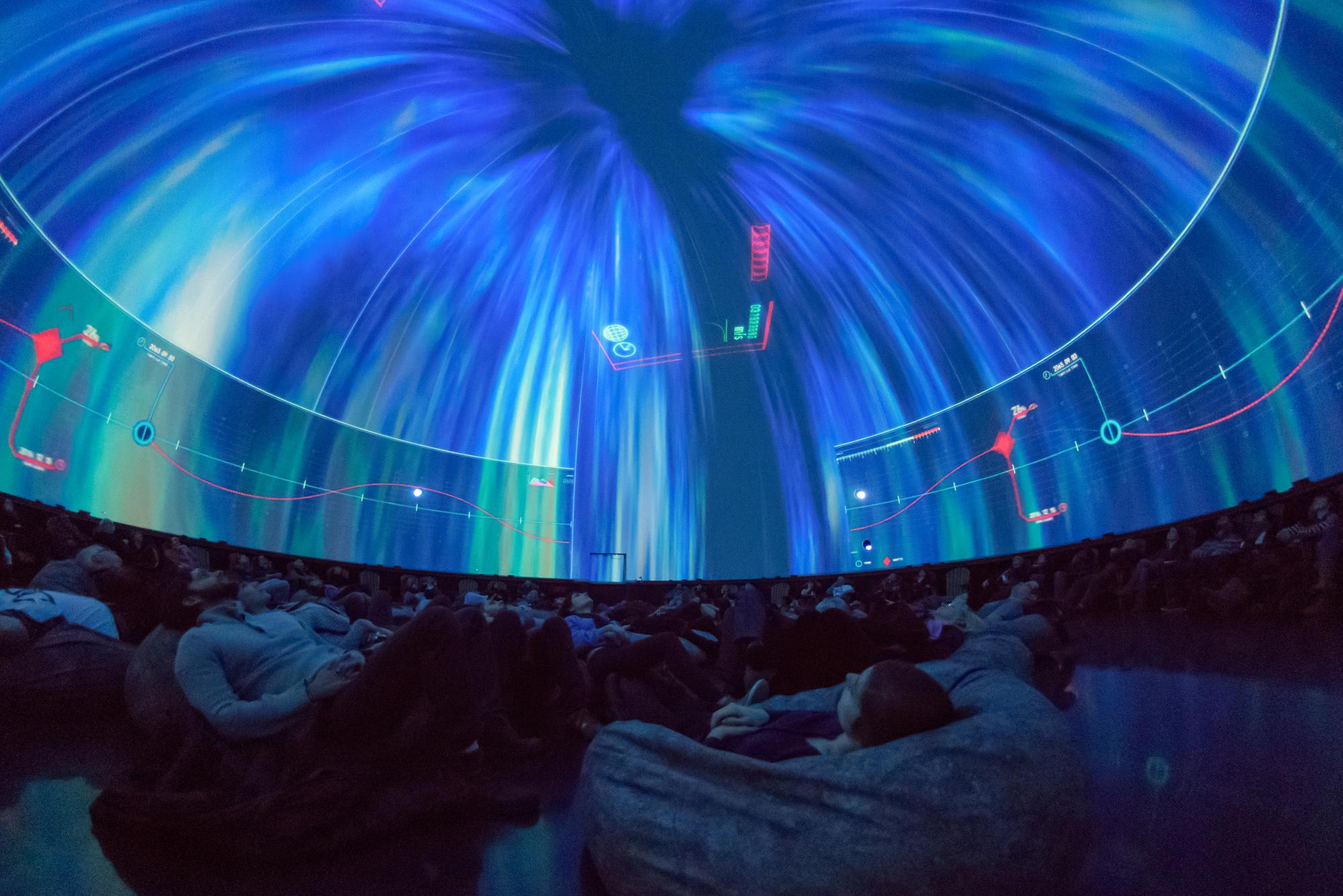 Espace pour la vie - Spectacle Vertiges - Planétarium