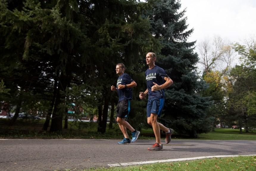 Marathon de Montréal: deux frères, une course, une cause