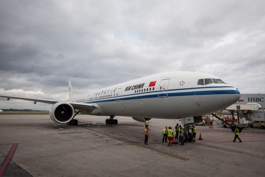 Premier vol direct entre la Chine et Montréal