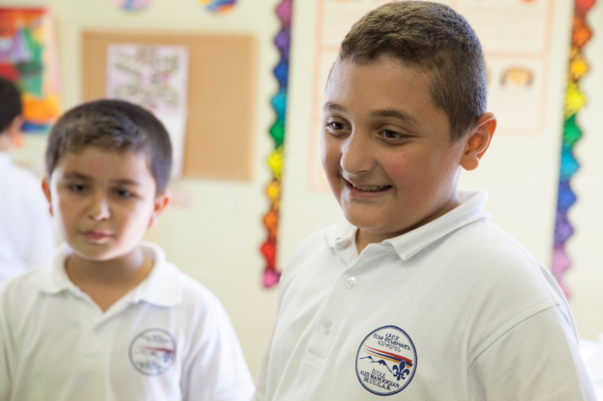 Une rentrée scolaire loin des bombes