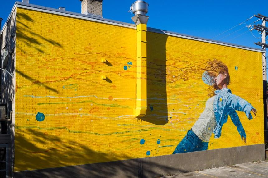 Une nouvelle murale à Saint-Laurent