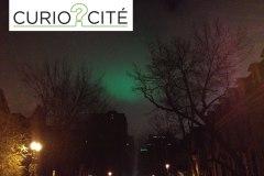 [CurioCité] D'où vient la lueur verte dans le ciel de Montréal?