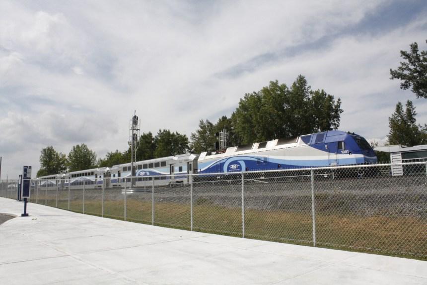 Train de l'Est: taux d'achalandage de 40%