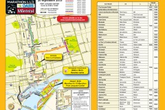 Marathon de Montréal: Quelle rues sont fermées?