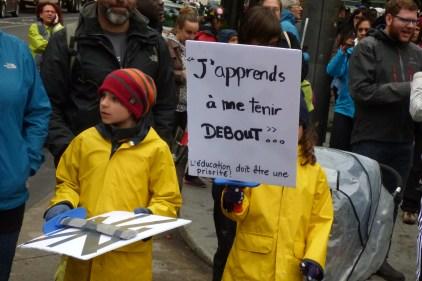 Manifestation des enseignants du primaire et secondaire