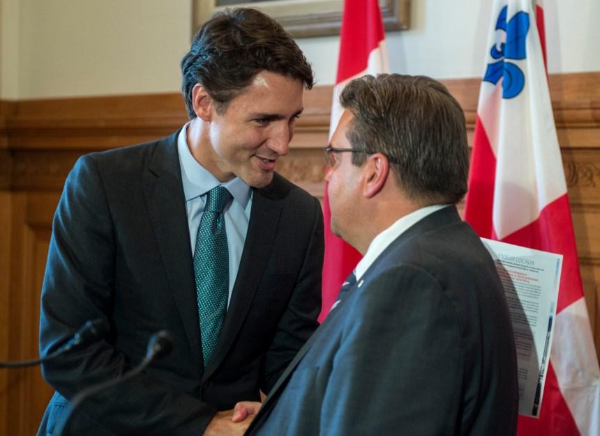 Demandes de Montréal: plusieurs oui de Trudeau
