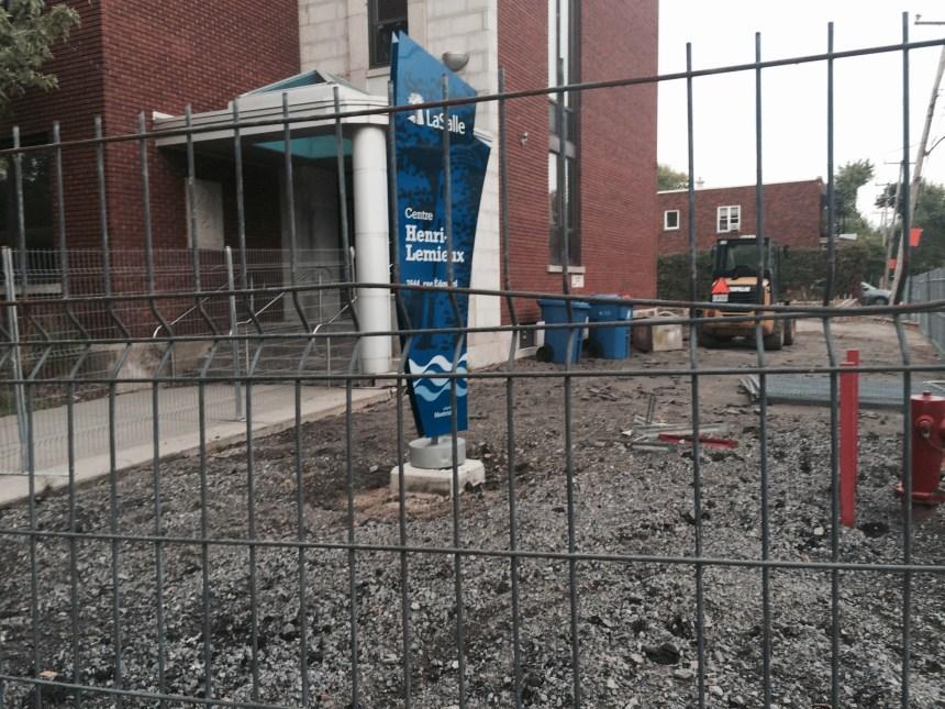 Centre Henri-Lemieux: LaSalle impose 1000$ d'amende par jour de retard