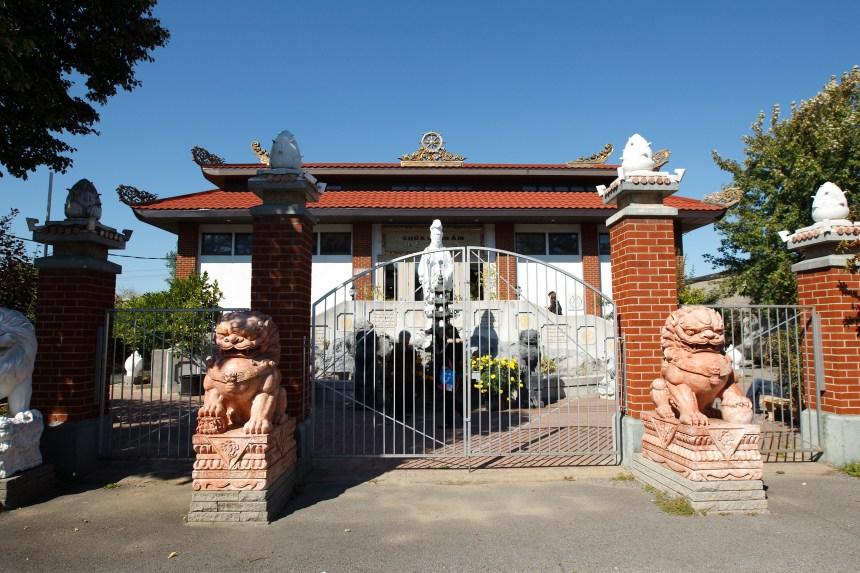Un temple bouddhiste poursuit l'arrondissement Côte-des-Neiges