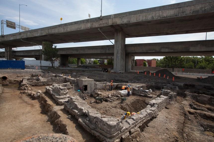 Projet Turcot: les vestiges du Village des Tanneries seront ensevelis