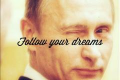 Un moral et des biceps d'acier grâce à Vladimir Poutine