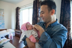Léa, un bébé Syrien née loin des bombes