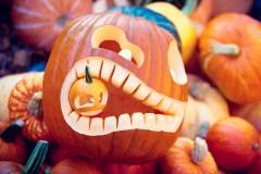 On célèbre l'Halloween à la place du Village-de-la-Pointe-aux-Trembles