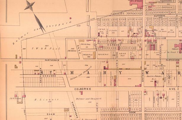 ACTU - carte de 1878 Site web