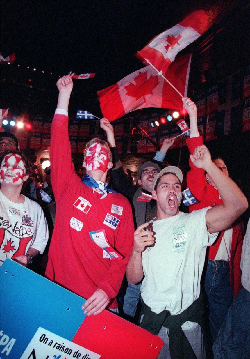 Je me souviens de 1995: les anglophones se mobilisent