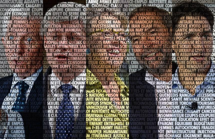 De quoi parlent (vraiment) les partis politiques