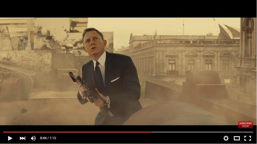 Un trailer explosif pour «007 Spectre»