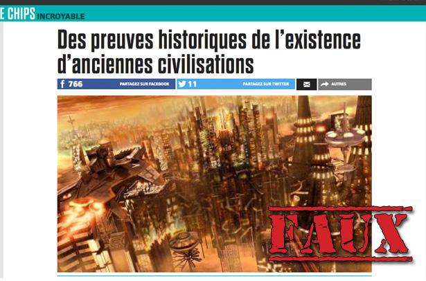 Non, «des chercheurs» n'ont pas prouvé l'existence d'une civilisation vieille de 200000 ans