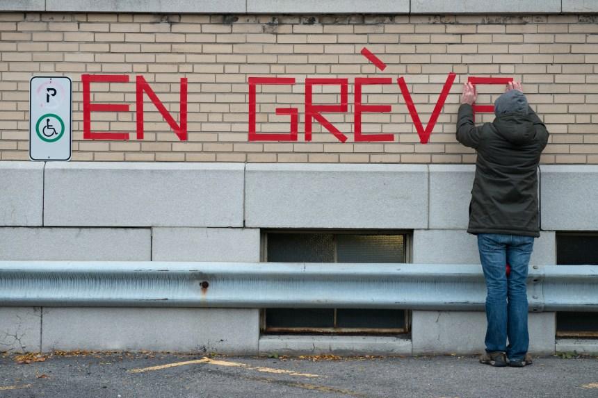 Grève des cols blancs: des services fermés dans Rosemont-La Petite-Patrie