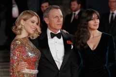 [Photos] Le tapis rouge déroulé pour James Bond