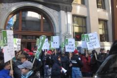 Grève des employés du gouvernement
