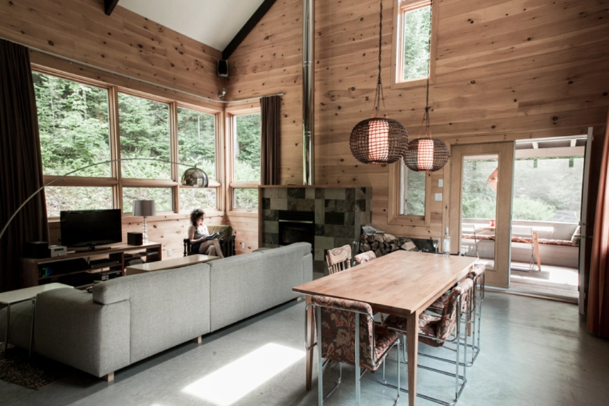 L'architecture nordique à la sauce québécoise