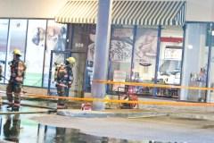 Une pizzéria de Dorval ciblée par des incendiaires