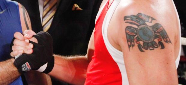 Justin Trudeau tattoo