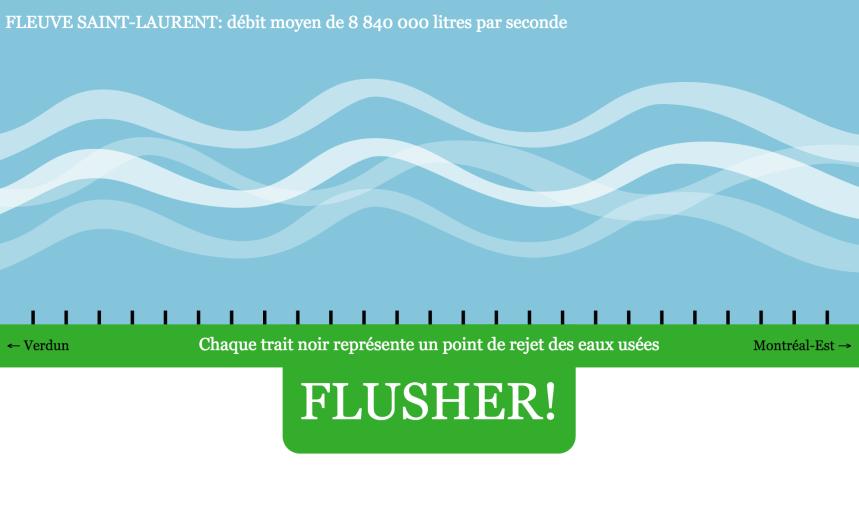 #Flushgate: Des centaines de kilos de métaux lourds
