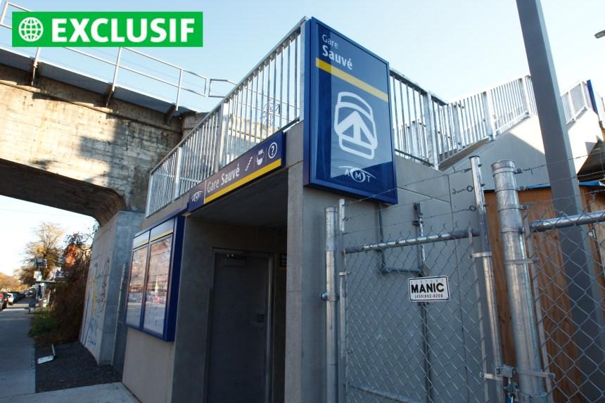 Gare Sauvé : l'AMT a décidé de déplacer l'édicule