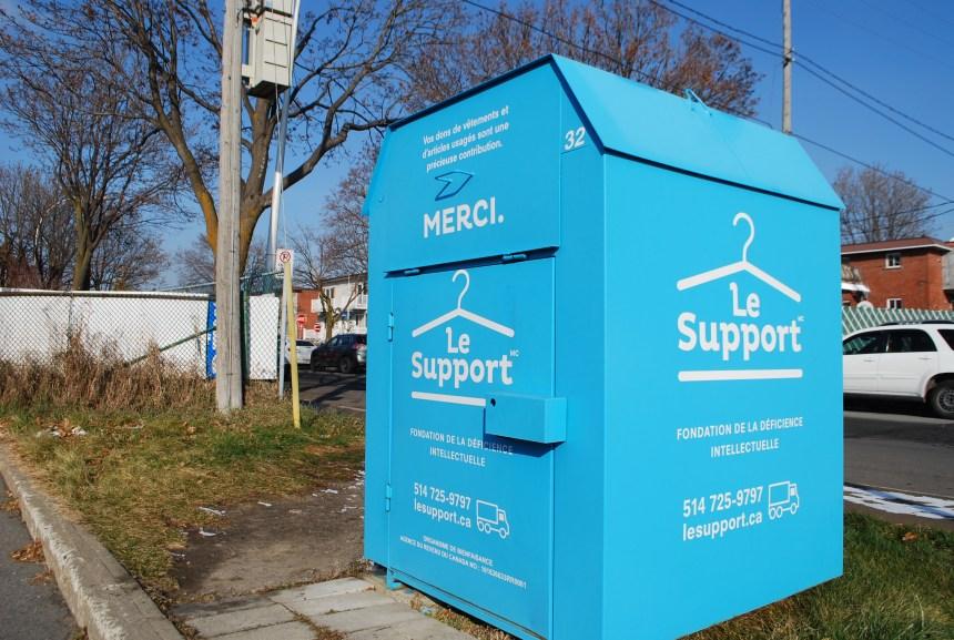 Montréal-Nord ordonne le retrait de 60 boîtes de dons