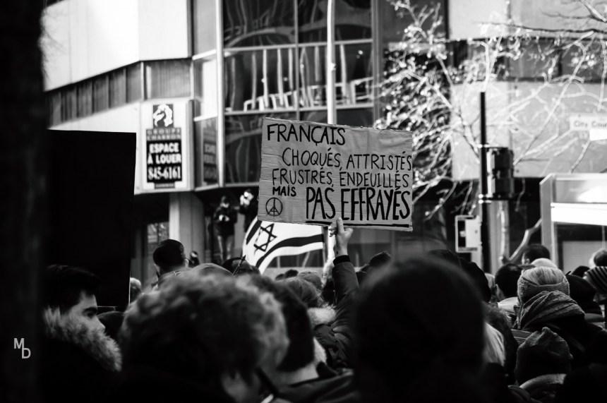 Marche en soutien à Paris