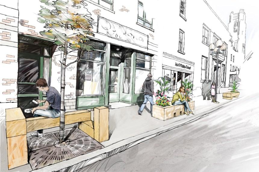 Des frênes ravagés par l'agrile transformés en mobilier urbain