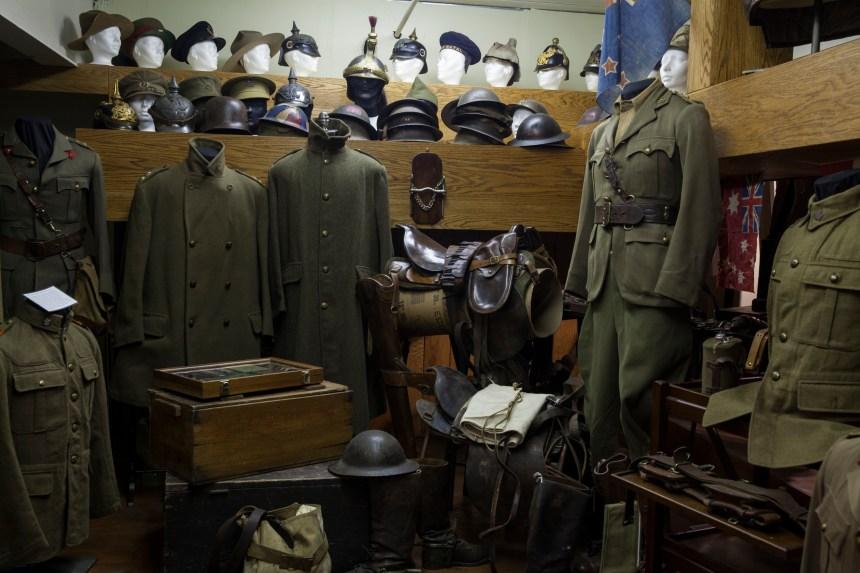Première Guerre mondiale: une collection ouverte au public