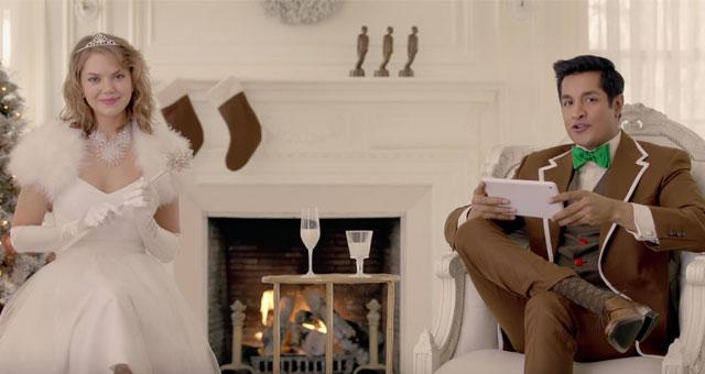 Sugar Sammy répond à des «mean tweets» dans ses publicités de Noël