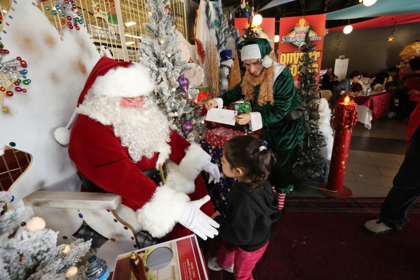 Leucan fête Noël avec les enfants dimanche