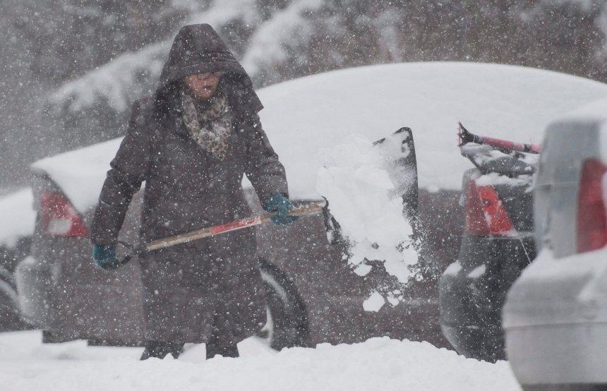 Importante tempête de neige sur le Québec