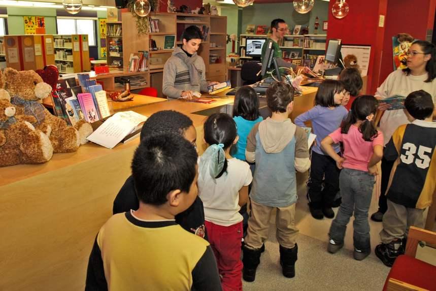 Travaux d'entretien: la bibliothèque Langelier se refait une beauté