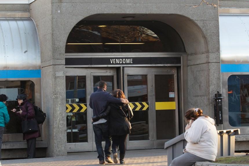 Un deuxième édicule construit à la station Vendôme